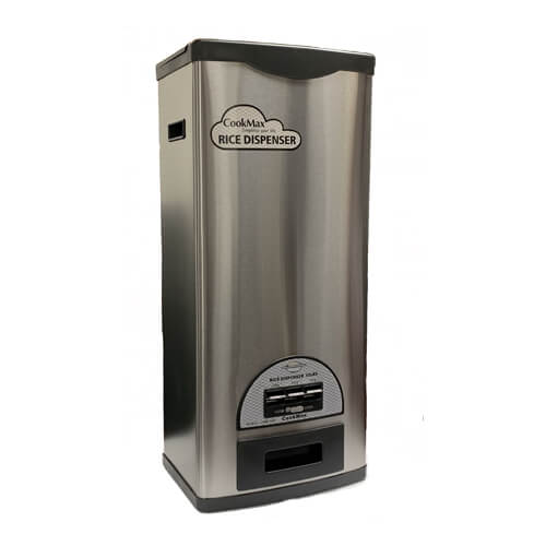 CRB-55S: COOKMAX RICE DISPENSER (50 LBS.)