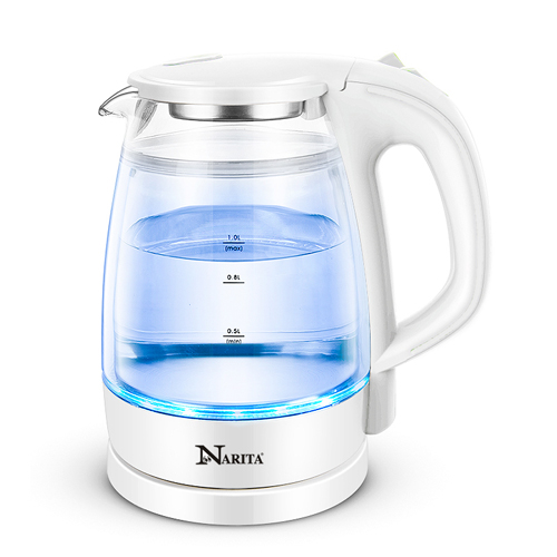 GK-1201D: DOUBLE WALL ELECTRIC GLASS KETTLE