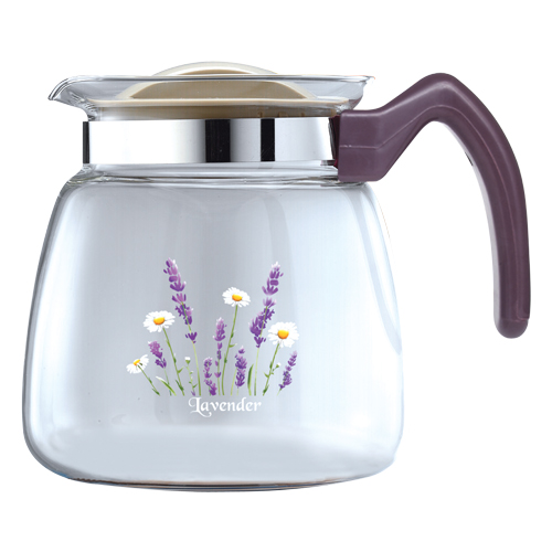 HG-1941: GLASS STOVETOP TEA KETTLE (64OZ)