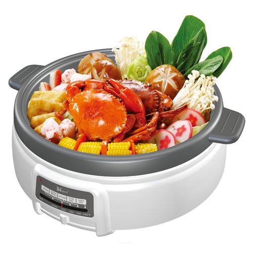 NEC-4000: ELECTRIC MULTI-COOKER SHABU SHABU  HOT POT