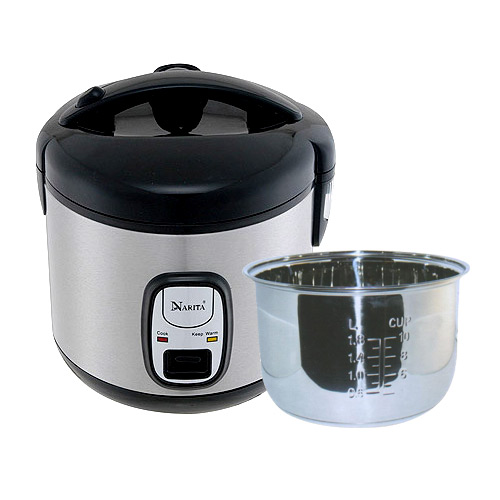 NRC-10SS: 10 CUP RICE COOKER / STAINLESS STEEL INNER PAN