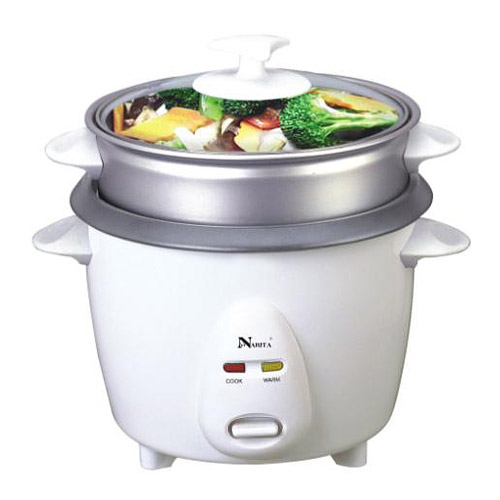 NRC-160: 8 CUPS RICE COOKER WITH STEAMER