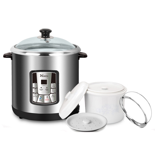 NSQ-1005E: MULTI FUNCTIONAL STEW COOKER / 10.5QT
