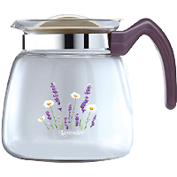 Glass Stovetop Tea Kettle (64OZ)