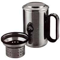 Vacuum Mug with Filter