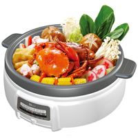 Electric Multi-Cooker Shabu Shabu  hot pot