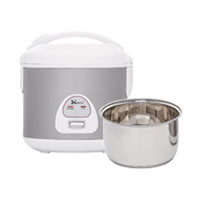 4 Cups Rice Cooker / Stainless Steel Inner Pan